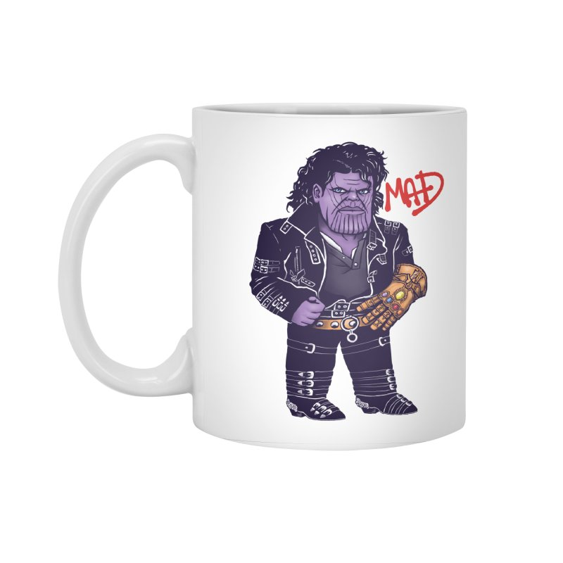 Mad Accessories Standard Mug by c0y0te7's Artist Shop