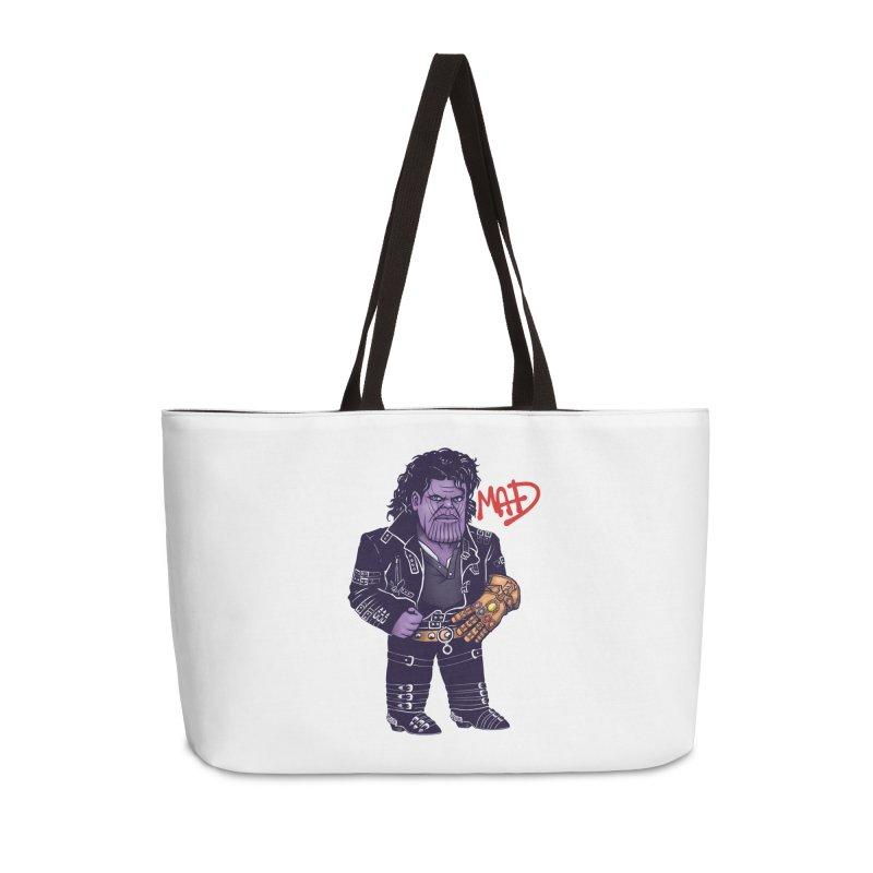 Mad Accessories Weekender Bag Bag by c0y0te7's Artist Shop