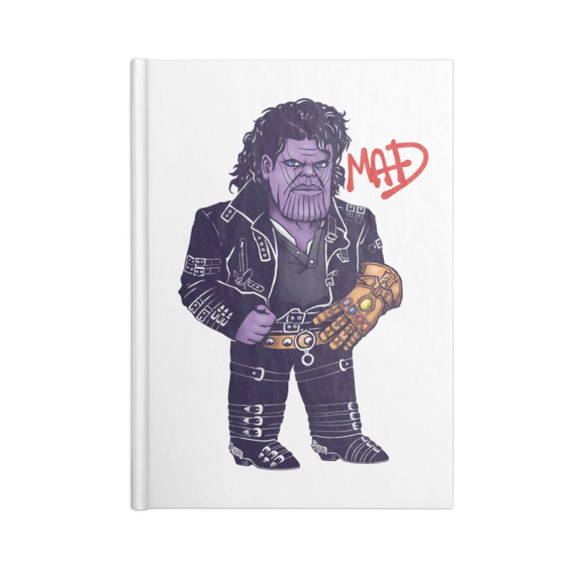 Mad Accessories Notebook by c0y0te7's Artist Shop