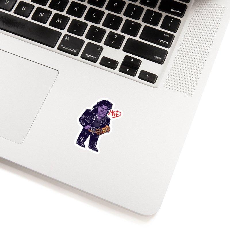 Mad Accessories Sticker by c0y0te7's Artist Shop