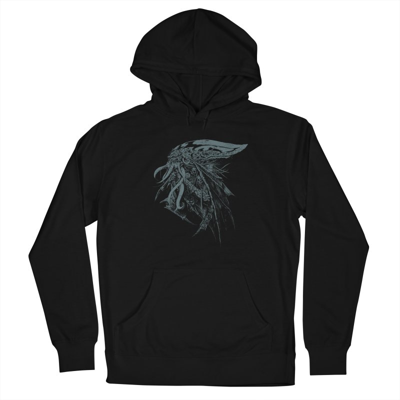 Necromicon Women's French Terry Pullover Hoody by Cumix47's Artist Shop