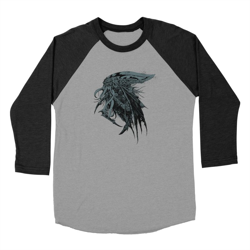 Necromicon Women's Baseball Triblend Longsleeve T-Shirt by Cumix47's Artist Shop