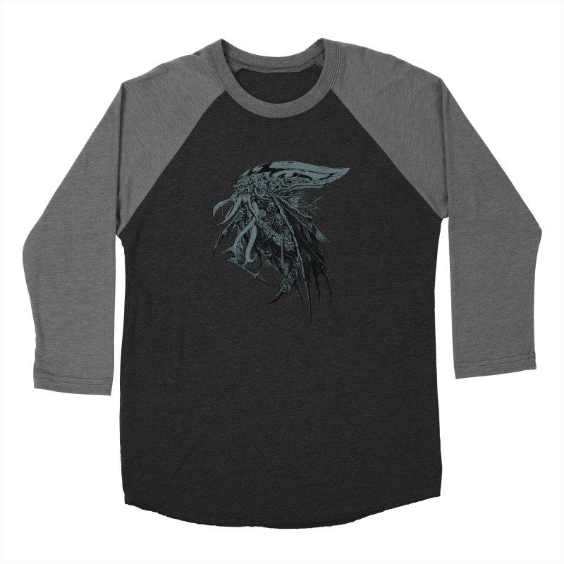 Necromicon Men's Baseball Triblend Longsleeve T-Shirt by Cumix47's Artist Shop