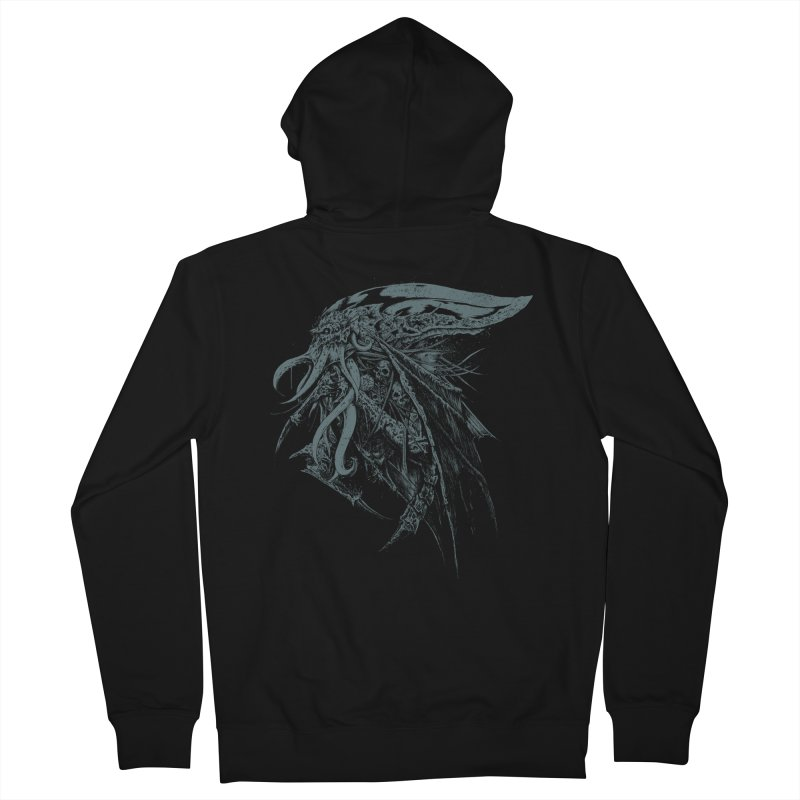 Necromicon Women's French Terry Zip-Up Hoody by Cumix47's Artist Shop