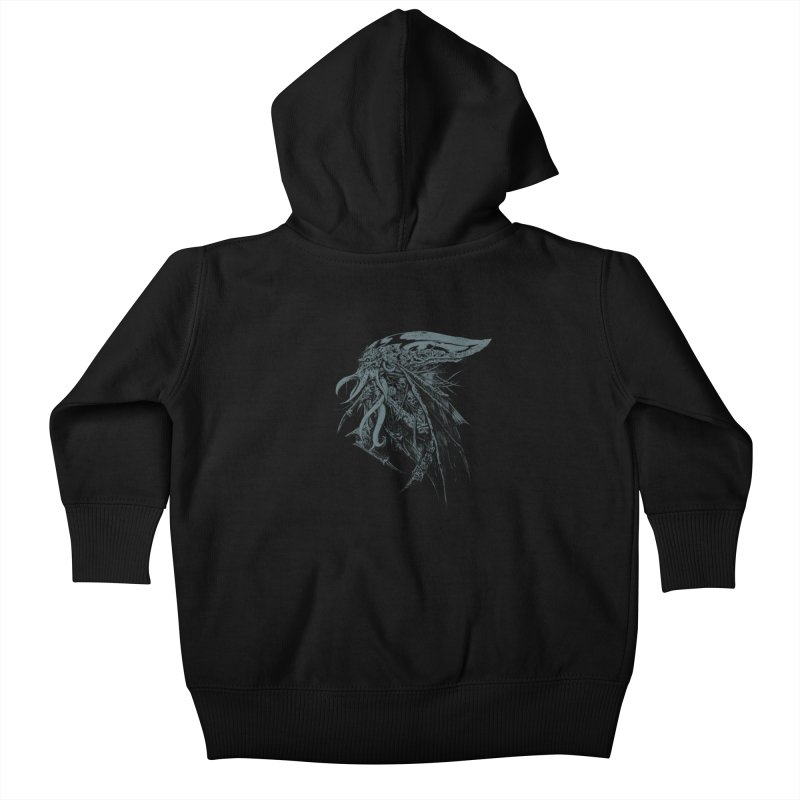 Necromicon Kids Baby Zip-Up Hoody by Cumix47's Artist Shop