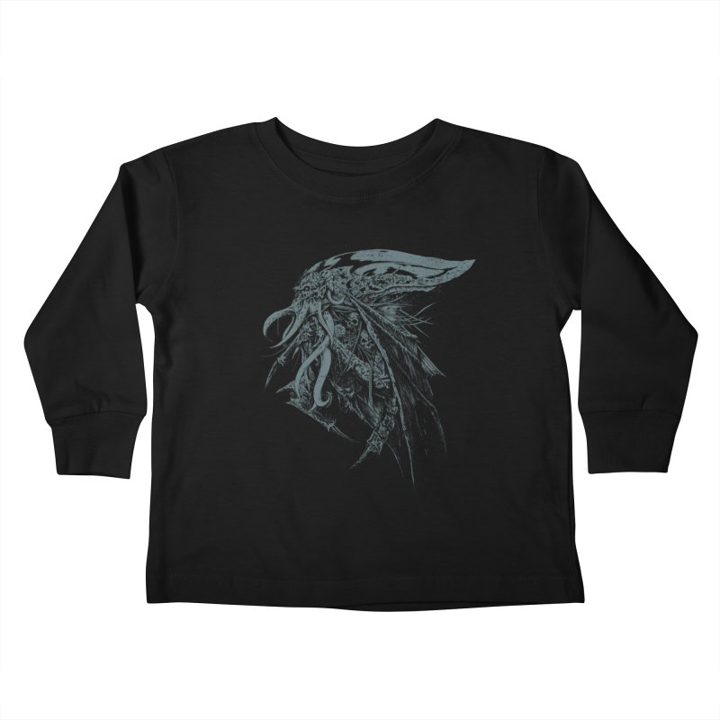 Necromicon Kids Toddler Longsleeve T-Shirt by Cumix47's Artist Shop