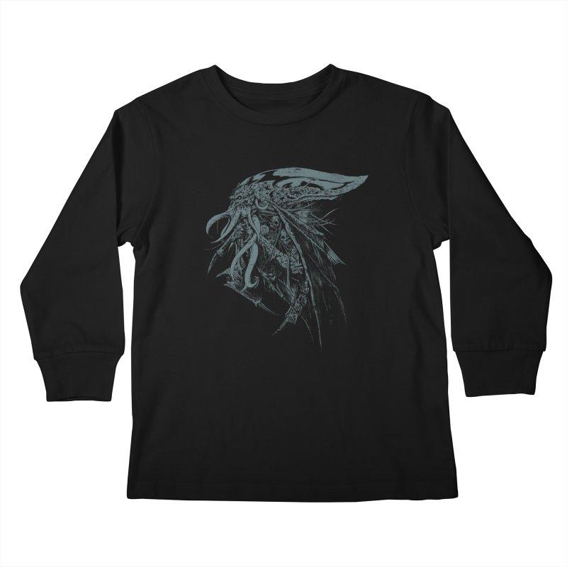 Necromicon Kids Longsleeve T-Shirt by Cumix47's Artist Shop