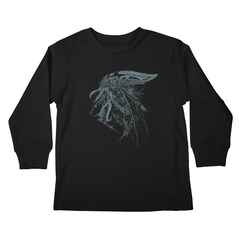 Necromicon Kids Longsleeve T-Shirt by Cumix47's Artist Shop