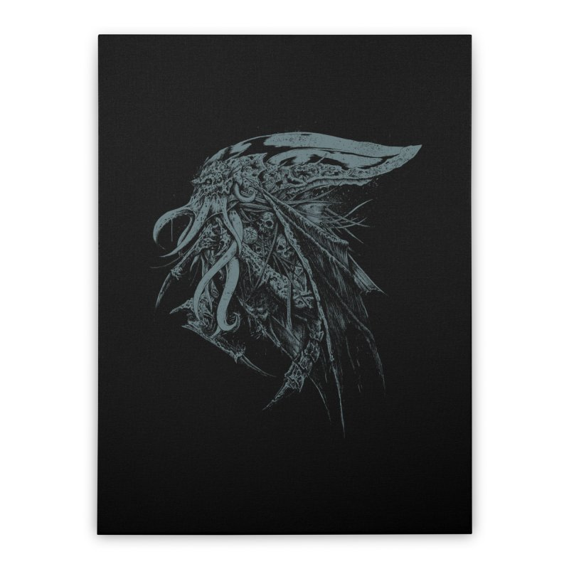 Necromicon Home Stretched Canvas by Cumix47's Artist Shop