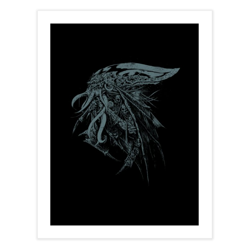 Necromicon Home Fine Art Print by Cumix47's Artist Shop
