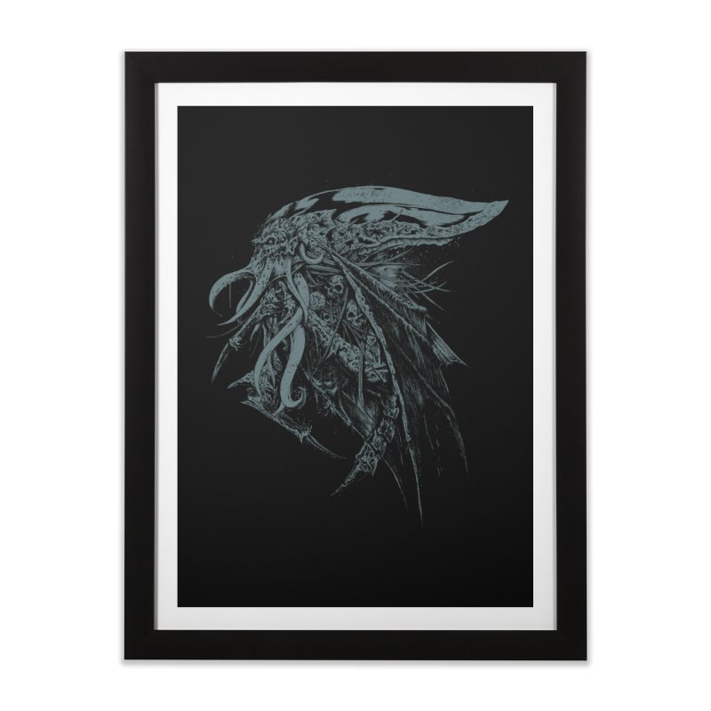 Necromicon Home Framed Fine Art Print by Cumix47's Artist Shop