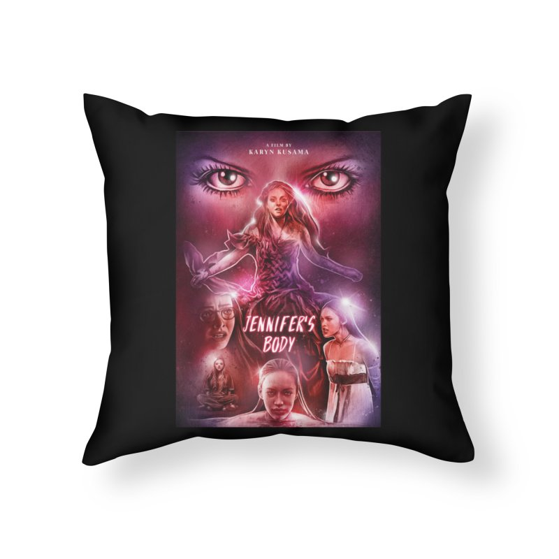Jennifer's Body Home Throw Pillow by cELLEuloid