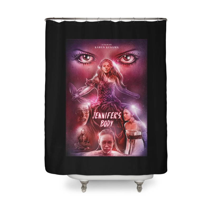 Jennifer's Body Home Shower Curtain by cELLEuloid