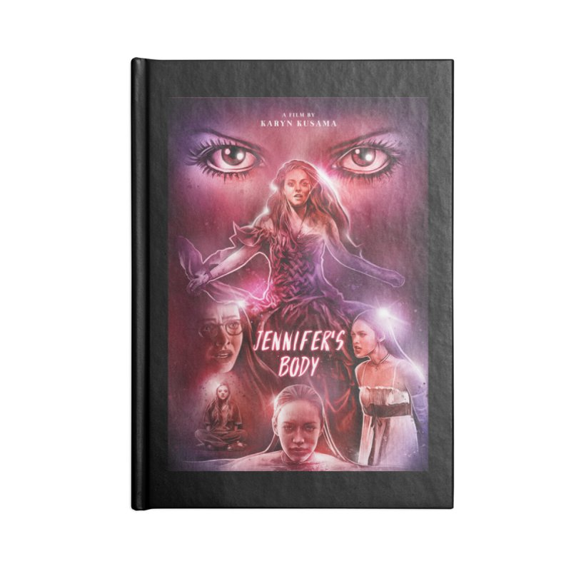 Jennifer's Body Accessories Notebook by cELLEuloid
