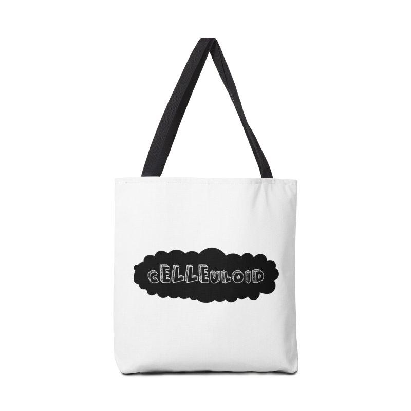 cELLEuloid logo Accessories Bag by cELLEuloid