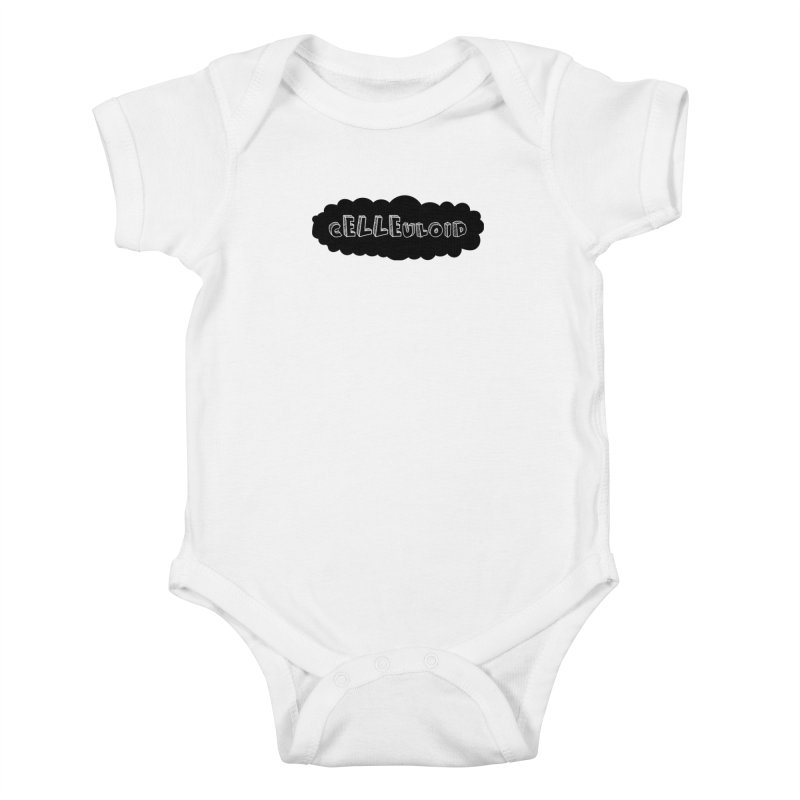 cELLEuloid logo Kids Baby Bodysuit by cELLEuloid