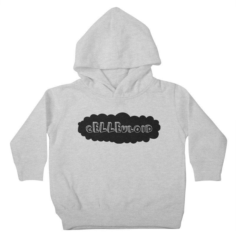 cELLEuloid logo Kids Toddler Pullover Hoody by cELLEuloid