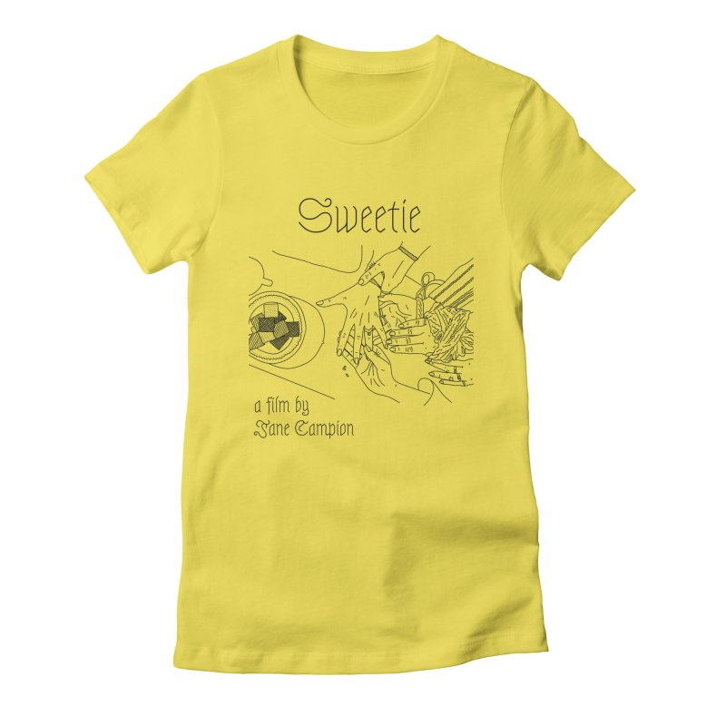 Sweetie Women's T-Shirt by cELLEuloid