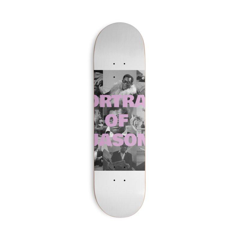 Portrait of Jason Accessories Skateboard by cELLEuloid