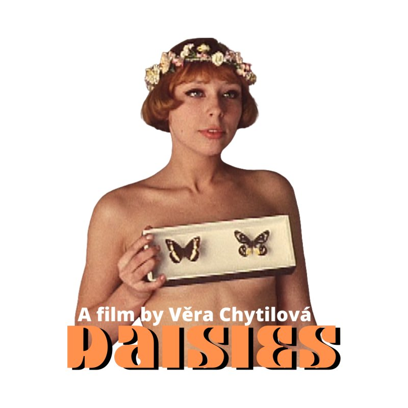 Daisies #2 (1966) Women's T-Shirt by cELLEuloid