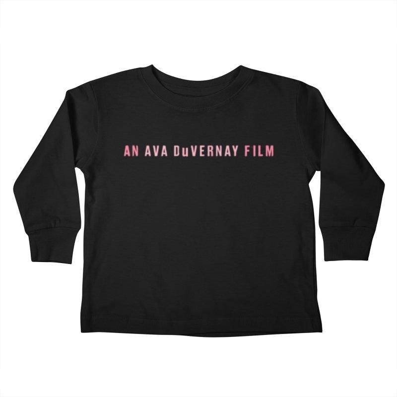 An Ava DuVernay Film Kids Toddler Longsleeve T-Shirt by cELLEuloid