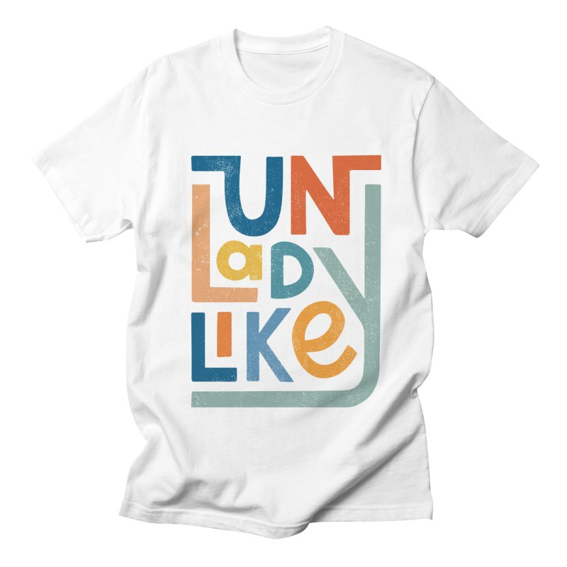 Unladylike Men's Regular T-Shirt by cabinsupplyco's Artist Shop