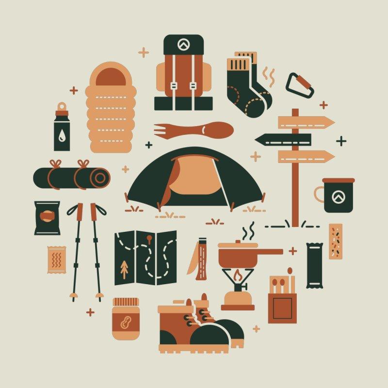 Thru Hiker Men's Sweatshirt by cabinsupplyco's Artist Shop