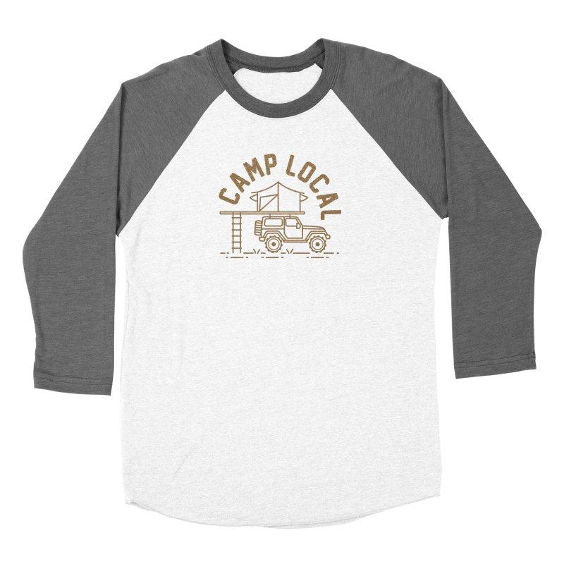 Camp Local Women's Longsleeve T-Shirt by cabinsupplyco's Artist Shop