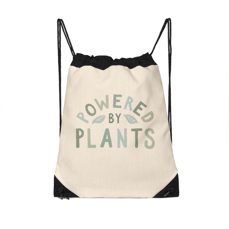 Powered by plants Accessories Bag by cabinsupplyco's Artist Shop