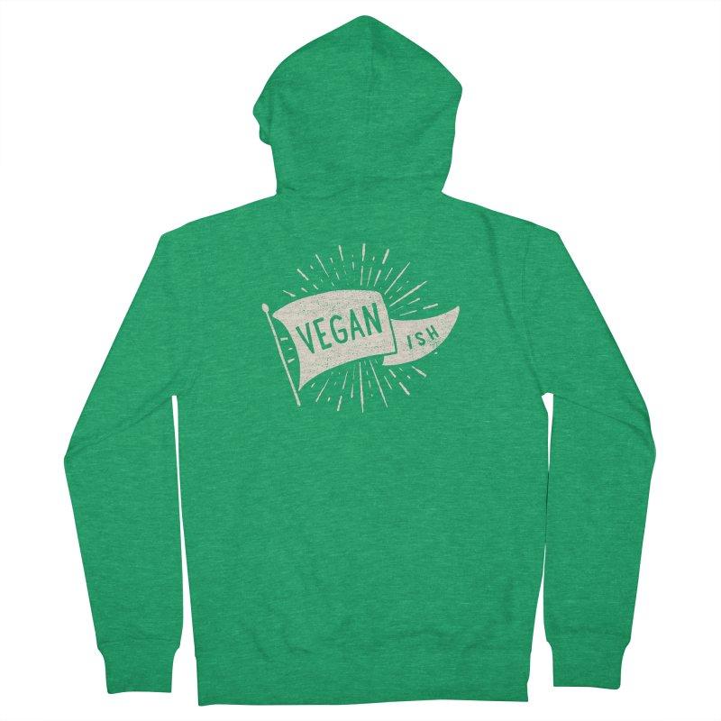 Vegan-ish Women's Zip-Up Hoody by cabinsupplyco's Artist Shop