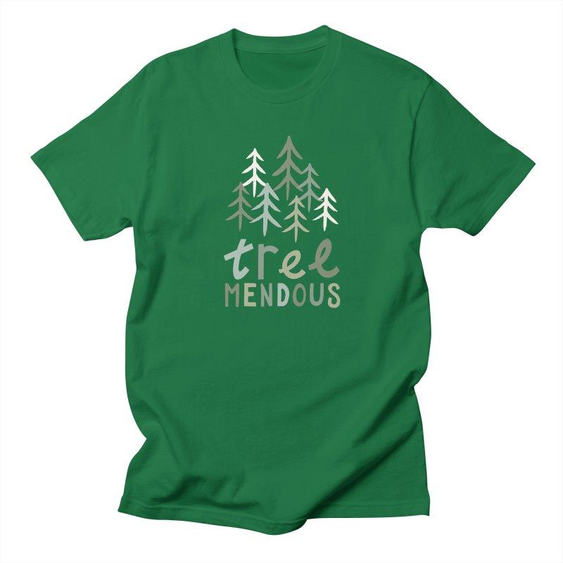 TREE-mendous Men's T-Shirt by cabinsupplyco's Artist Shop