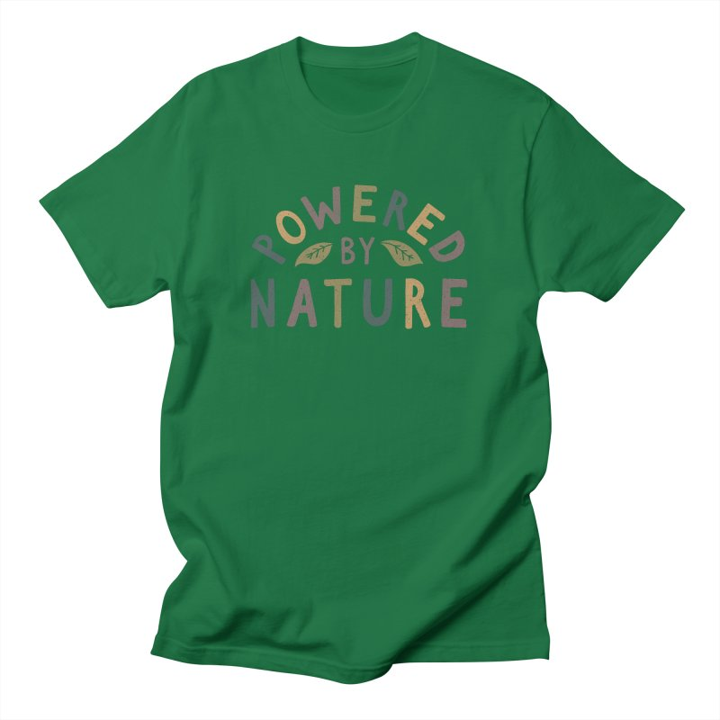 Powered by Nature Men's T-Shirt by cabinsupplyco's Artist Shop
