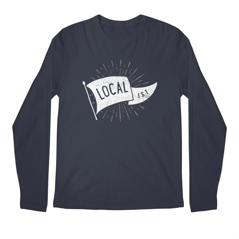 Localist Men's Regular Longsleeve T-Shirt by cabinsupplyco's Artist Shop