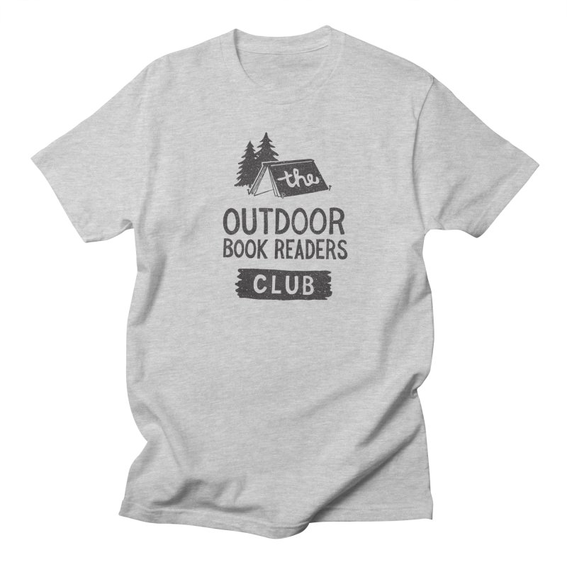 The Outdoor Book Readers Club Men's Regular T-Shirt by cabinsupplyco's Artist Shop