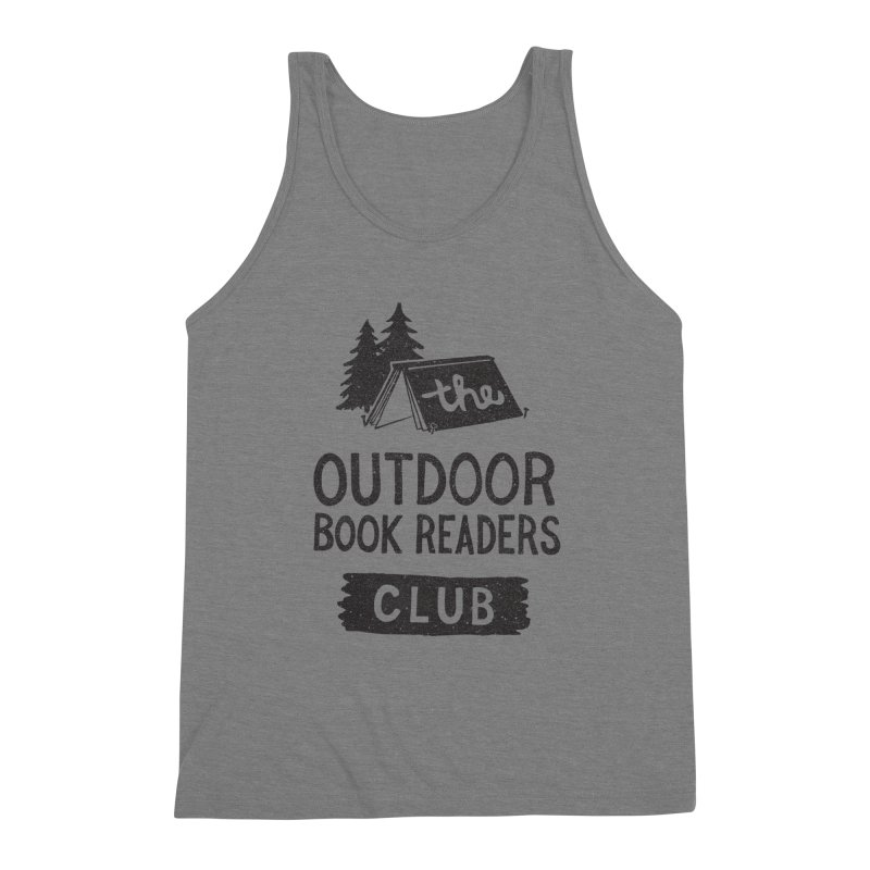 The Outdoor Book Readers Club Men's Triblend Tank by cabinsupplyco's Artist Shop