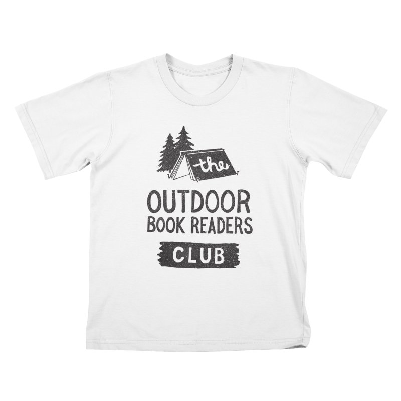 The Outdoor Book Readers Club Kids T-Shirt by cabinsupplyco's Artist Shop
