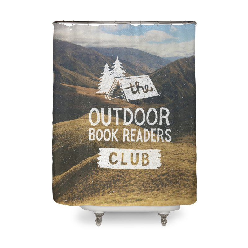 The Outdoor Book Readers Club Home Shower Curtain by cabinsupplyco's Artist Shop