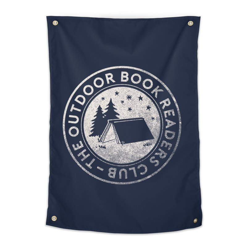 The Outdoor Book Readers Club in Tapestry by cabinsupplyco's Artist Shop