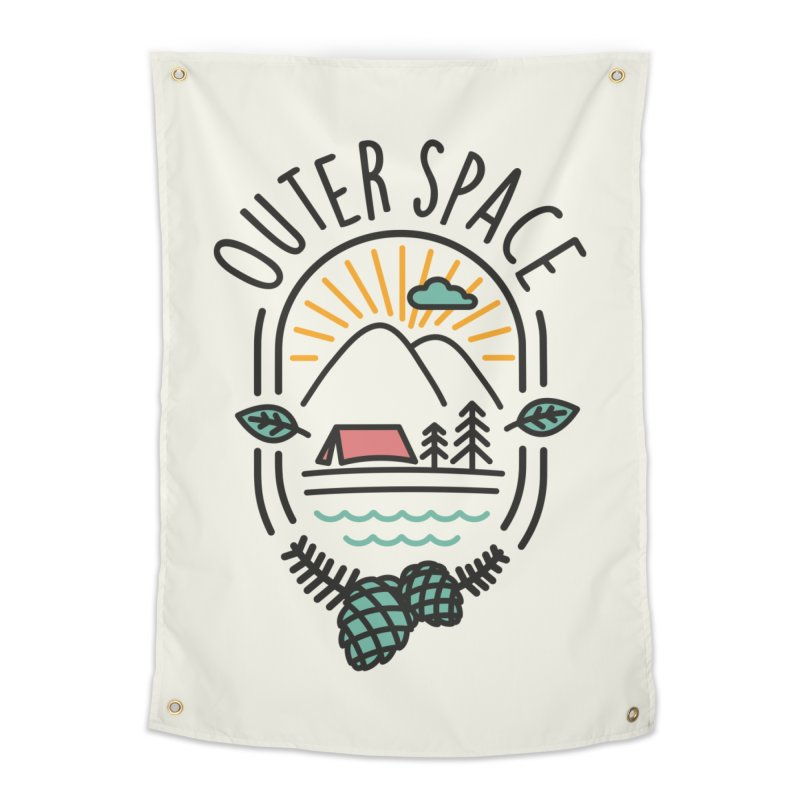 Outer Space Home Tapestry by cabinsupplyco's Artist Shop