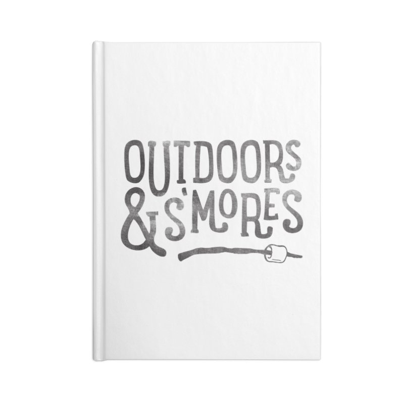 Outdoors & S'mores Accessories Lined Journal Notebook by cabinsupplyco's Artist Shop