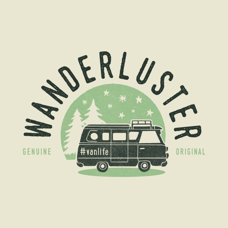 Wanderluster Men's T-Shirt by cabinsupplyco's Artist Shop