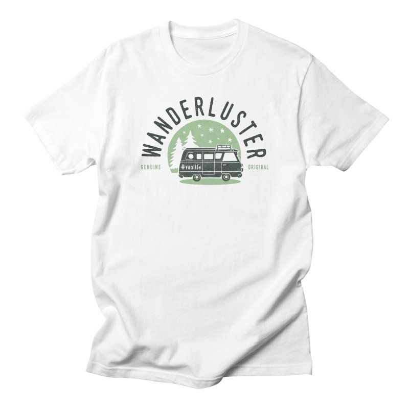 Wanderluster Men's Regular T-Shirt by cabinsupplyco's Artist Shop