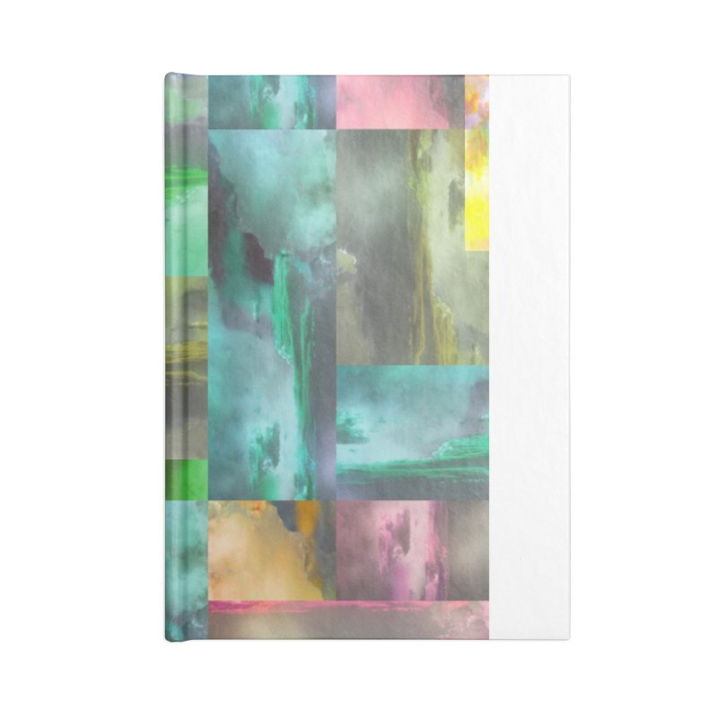 Geometric Arizona Sunset Clouds Accessories Lined Journal Notebook by Cactus Branch