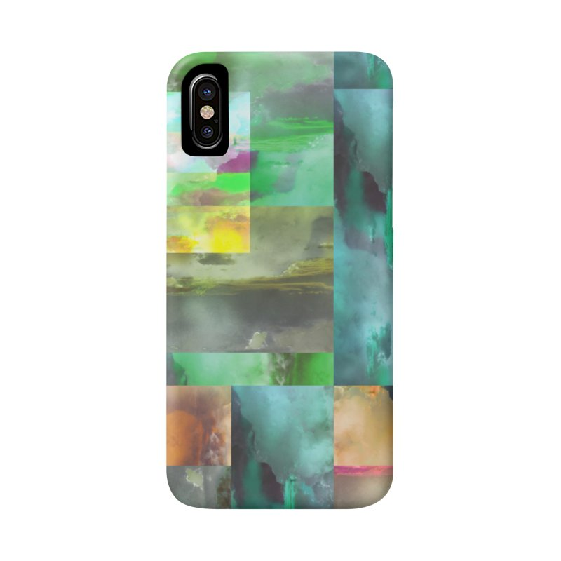 Geometric Arizona Sunset Clouds Accessories Phone Case by Cactus Branch