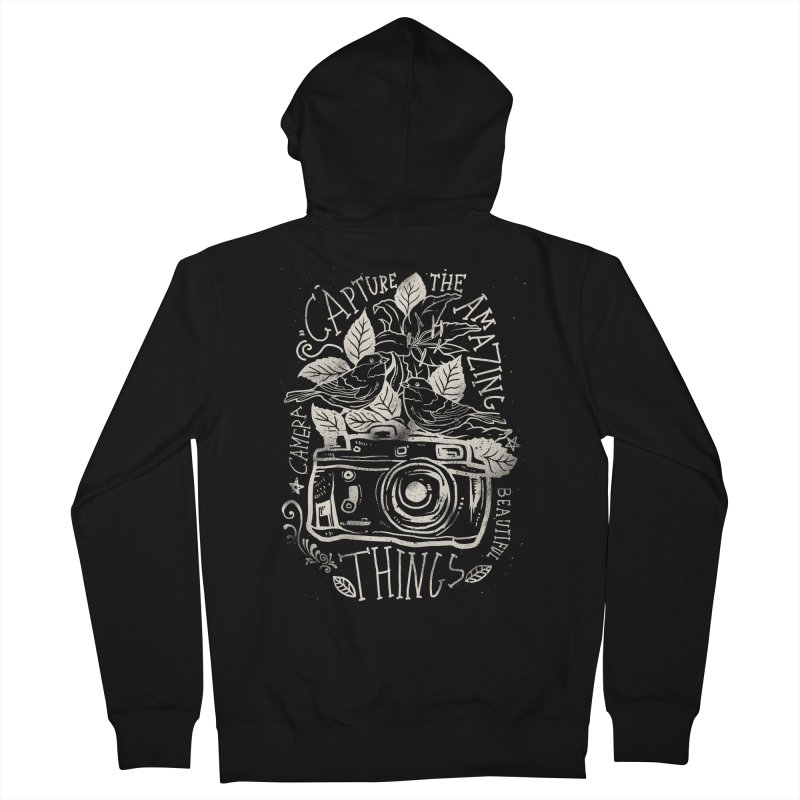 Capture the Amazing Things Women's Zip-Up Hoody by cadzart's Artist Shop