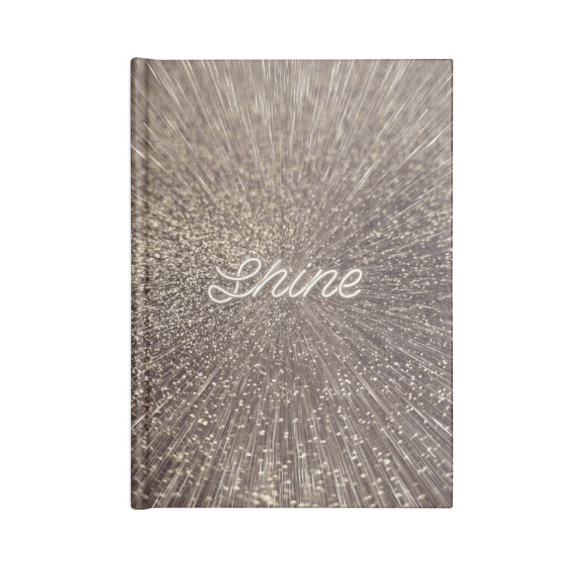 Shine Accessories Lined Journal Notebook by cafelab