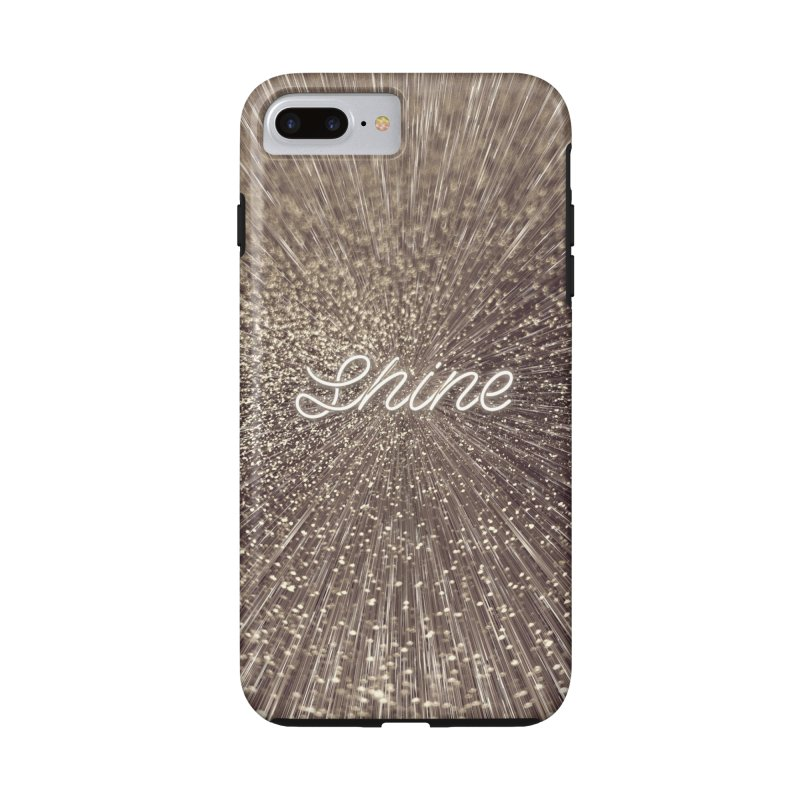 Shine Accessories Phone Case by cafelab