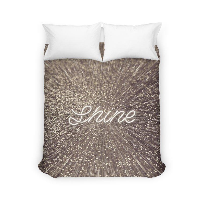Shine Home Duvet by cafelab