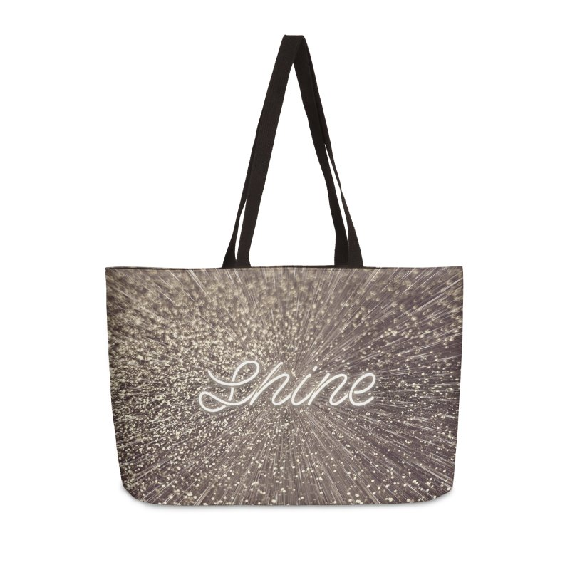 Shine Accessories Weekender Bag Bag by cafelab