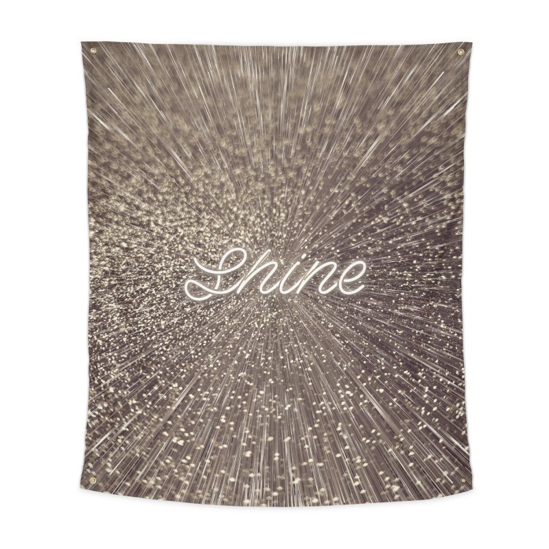 Shine Home Tapestry by cafelab